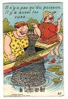 CAYEUX SUR MER (80) - CARTE À SYSTÈME - Il N'y A Pas Que Du Poisson, Il Y A Aussi Les Vues De... - PÊCHE - Ed. G. ARTAUD - Cayeux Sur Mer