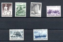 Pays Bas / Série N 535 à 540 / NEUFS Avec Trace De Charnière - 1949-1980 (Juliana)