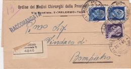 STORIA POSTALE PERIODO LUOGOTENENZA POSTA REGOLARMENTE VIAGGIATA O SERVIZI - 5. 1944-46 Luogotenenza & Umberto II