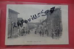 C P Jessains Rue De L'uise Tres Animé - Francia