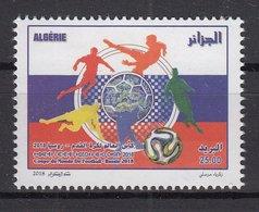 ALGERIA 2018  Football. FIFA World Cup In Russia 1 Stamp MNH - 2018 – Russia