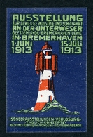 CINDERELLA : AUSSTELLUNG - BREMERHAVEN 1913 (B) - Cinderellas