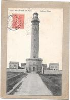 BELLE ISLE EN MER - 56 - Le Grand Phare - BORD** - - Belle Ile En Mer
