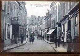 36 - ARGENTON-sur-CREUSE - Rue Grande - Frankreich