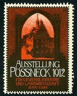 CINDERELLA : AUSSTELLUNG - POSSNECK 1912 - Cinderellas
