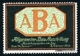 CINDERELLA : ALLGEMEINE BAU AUSSTELLUNG 1914 - Cinderellas