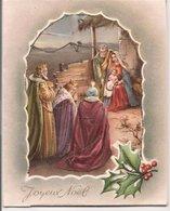L32b059 - Joyeux Noël - Nativité Et Rois Mages - Carte à Système Ouvrante - JC - Autres