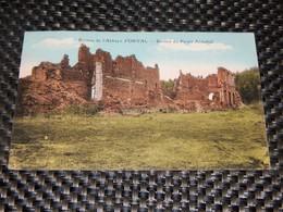 ABBAYE D'ORVAL  -  RUINES  -  Restes Du Palais Abbatial - Florenville