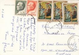 JUGOSLAWIEN 1960 - 5 Fach Frankierung Auf Ak CRVENA - 1945-1992 Sozialistische Föderative Republik Jugoslawien