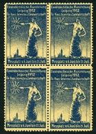 CINDERELLA : ELEKTROTECHNISCHE AUSSTELLUNG - LEIPZIG 1912 - Cinderellas