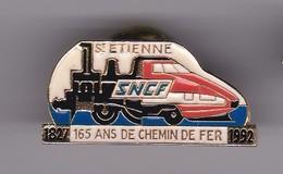 Pin's ST ETIENNE 165 ANS DE LA SNCF - TGV