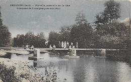 30)  BESSEGES  -Nouvelle Passerelle Sur La Cèze - Commune De Foussiguargues Aux Buis - Bessèges