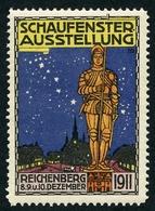 CINDERELLA : SCHAUFENSTER AUSSTELLUNG - REICHENBERG 1911 - Cinderellas