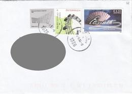 Brief ÖSTERREICH Gel.201? Mit 7 + 6 + 55 C Frankierung - 2011-... Cartas