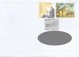 Brief ÖSTERREICH Gel.201? Mit 7 + 10 + 51 C Frankierung - 2011-... Cartas