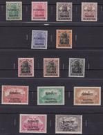 "Germania Reich AlleNstein 1920 - Overprint ""Pebliscite"" 1/14 MH - Unused Stamps"