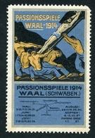 CINDERELLA : PASSIONSPIELE - WAAL 1914 - Cinderellas