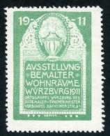 CINDERELLA : AUSSTELLUNG BEMALTER WOHNRAUME - WURZBURG 1911 - Cinderellas
