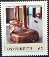 SPECIAL EDITION AUSTRIAN POST - E136 Bier, Beer, Biere, Cerveza, Bier Brauen, Braukessel, AT 2013 ** - Österreich