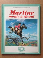 Album Jeunesse - Martine Monte à Cheval (1974) - Casterman