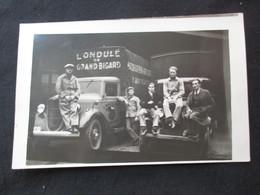 CARTE PHOTO BELGIQUE (M1813) DILBEEK GRAND-BIGARD GROOT BIJGAARDEN (2 Vues) L'ondulé Cartonnerie Camions, Employés - Dilbeek