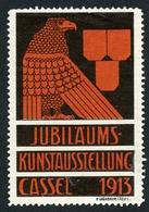 CINDERELLA : JUBILAUMS - KUNSTAUSSTELLUNG - CASSEL 1913 - Cinderellas