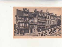 Lisieux, Rue Au Char. Post Card Used 1931 - Lisieux