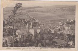 07  La Louvesc  Vue Generale  Celebre Pelerinage A Saint Regis - La Louvesc