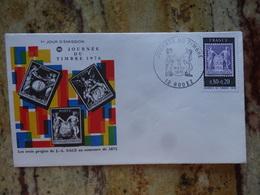 1er Jour Rodez Aveyron  Journee Du Timbre 1976 - FDC