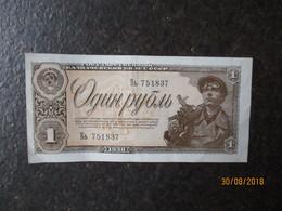 RUSSIA 1938 1 RUBLE  , 0 - Russie