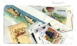 Hongrie 1997 Neuf Sans Charnieres , Annee Complete Selon Catalogue Scott - Hongarije