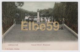 Gibraltar, General Eliott's Monument, Unused - Gibilterra