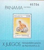Panama MNH SS - Weightlifting