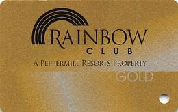 Rainbow Club Casino - Henderson, NV USA - BLANK Slot Card - Casinokarten