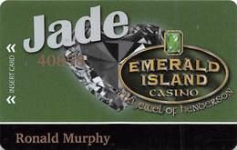 Emerald Island Casino Henderson NV - Jade Slot Card - Casino Cards