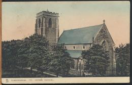°°° 11771 - UK - CLEETHORPES - ST. PETERS CHURCH - 1905 With Stamps °°° - Inghilterra