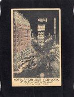 79078    Stati  Uniti,   Hotel Astor,  Times  Square,  New York,  At The Crossroads Of The World,  F. A. Muschenheim,  V - Time Square