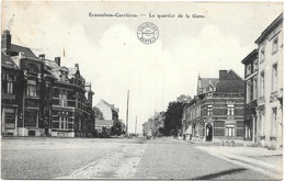 Ecaussinnes-Carrières NA17: Le Quartier De La Gare 1913 - Ecaussinnes
