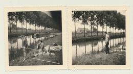 La Pêche Au Canal à Anderlecht  2 Photos - Lieux