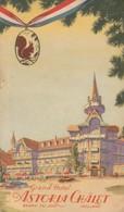 "Grand Hôtel "" Astoria Châlet "" - Baarn ( Utrecht ) - Pays-Bas - Dépliants Turistici"