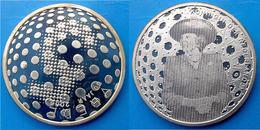 NETHERLANDS 5 E 2005 ARGENTO SILVER EURO 60 JAARVREDE KONINGEN  PESO 11,9g TITOLO 0,925 CONSERVAZIONE FDC BLISTER UNC - Paesi Bassi