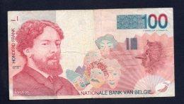 Banconota Belgio - 100 Franchi 1995 Circolata - [ 2] 1831-... : Regno Del Belgio