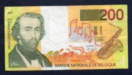 Banconota Belgio - 200 Franchi 1995 Circolata - [ 2] 1831-... : Regno Del Belgio