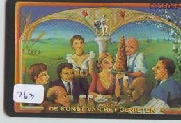NEDERLAND CHIP TELEFOONKAART CRD-263 * BRAND BIER * BEER *  Telecarte A PUCE PAYS-BAS ONGEBRUIKT  MINT - Nederland