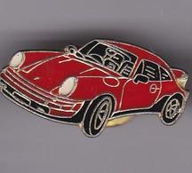 Pin's  PORSCHE ROUGE - Porsche