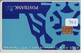 NEDERLAND CHIP TELEFOONKAART CRD-278 * POSTBANK *   Telecarte A PUCE PAYS-BAS ONGEBRUIKT  MINT - Nederland