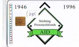 NEDERLAND CHIP TELEFOONKAART CRD-285 * AID *   Telecarte A PUCE PAYS-BAS ONGEBRUIKT  MINT - Private
