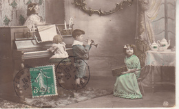 Enfants Musiciens  ,Piano,Trompette... - Escenas & Paisajes