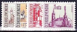 ** Tchécoslovaquie 1966 Mi 1657-60 (Yv 1519-22), (MNH) - Unused Stamps