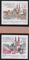 Sweden   .    Facit      .     1412/1413            .        **   .       MNH     .   /   .       Postfris - Suède